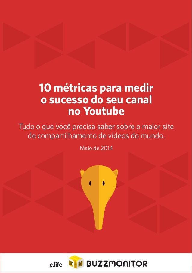 1  10 métricas para medir  o sucesso do seu canal  no Youtube  Tudo o que você precisa saber sobre o maior site  de compar...