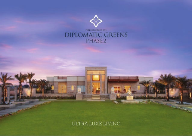 8287494393 PURI DIPLOMATIC GREENS RESALE 3 BHK 1780 SQFT
