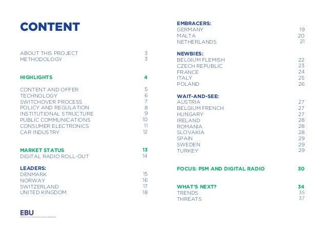 EBU - Digital Radio Report 2016 Slide 3