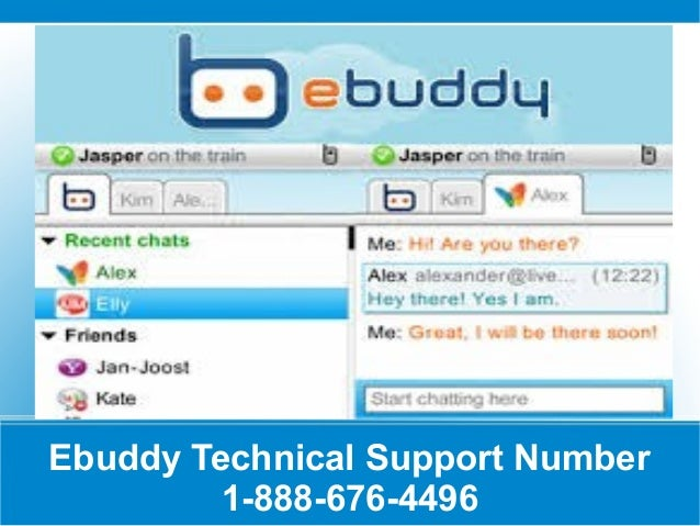 Ebuddy Technical Support Number 1-888-676-4496