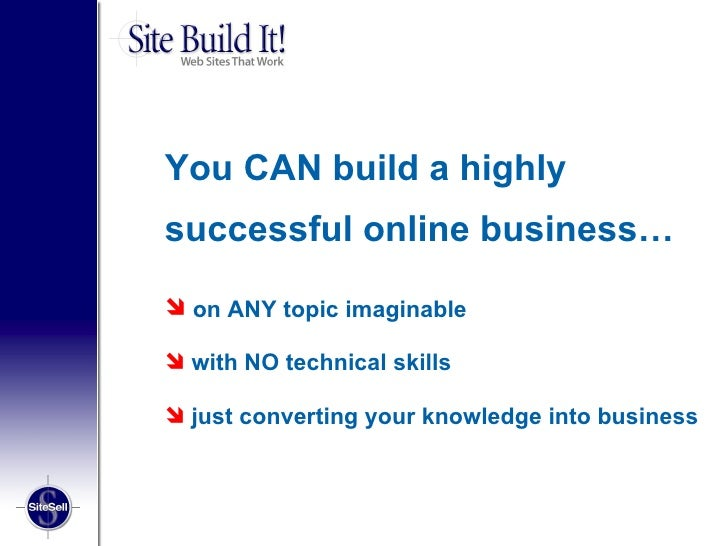 how to build your own business website