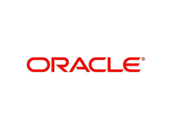 Oracle E-Business Suite 12.1 –     Technology Highlights                       Nadia Bendjedou      Senior Director – Prod...
