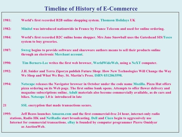 19. Timeline of History ...