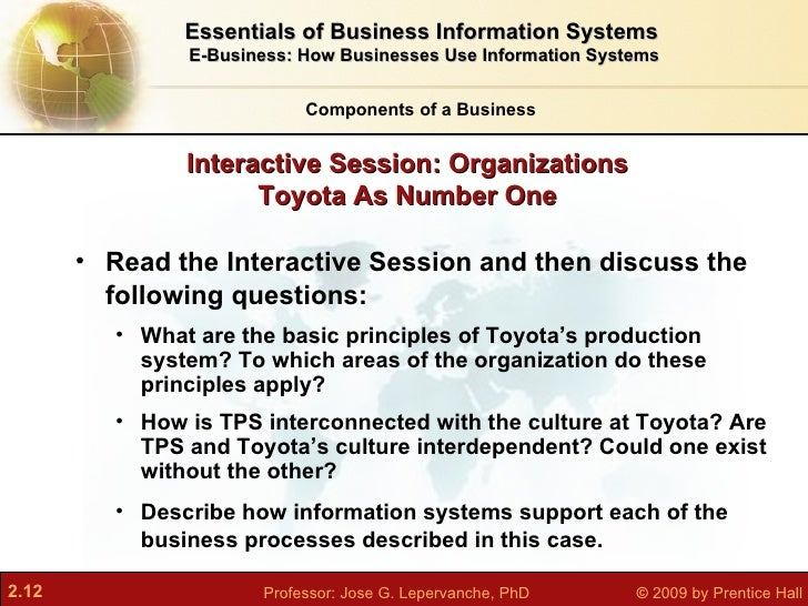 management information systems case study