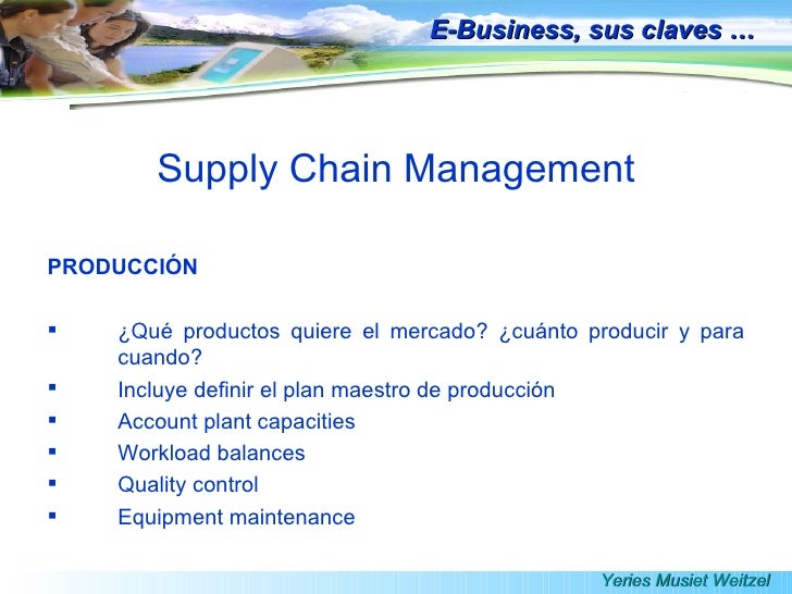 supply chain management in e commerce Six reasons why business-to-business e-commerce simplifies your supply chain cloud technology and integration are making it easier for companies to connect, maintain and manage relationships ian o'brien.