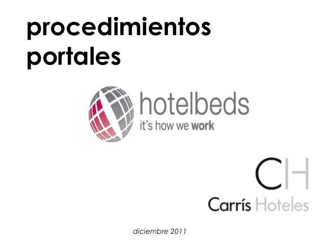 Instrucciones extranet Hotelbeds