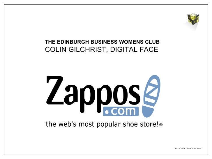 THE EDINBURGH BUSINESS WOMENS CLUB COLIN GILCHRIST, DIGITAL FACE
