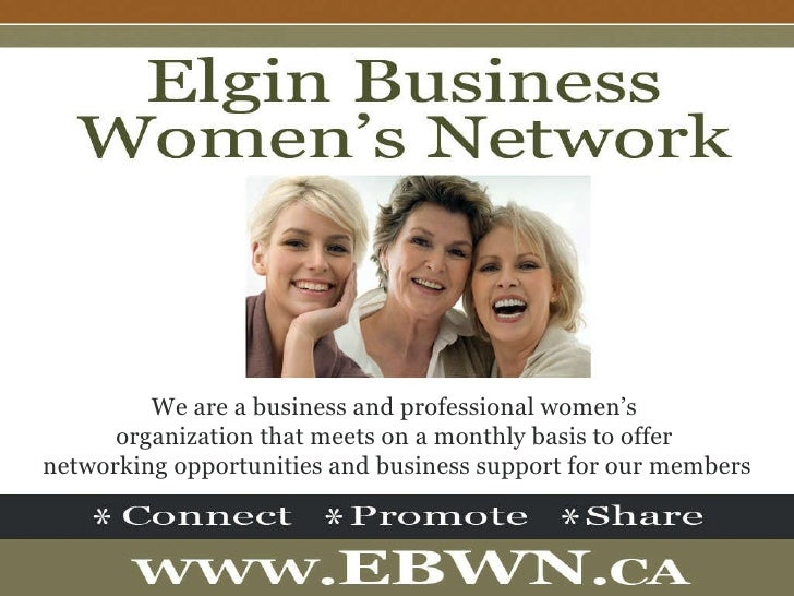 We are a business and professional women's  organization that meets on a monthly basis to offer  networking opportunities ...