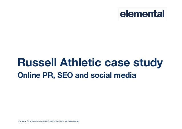 Elemental Communications Limited © Copyright 2001-2011. All rights reserved.Russell Athletic case studyOnline PR, SEO and ...