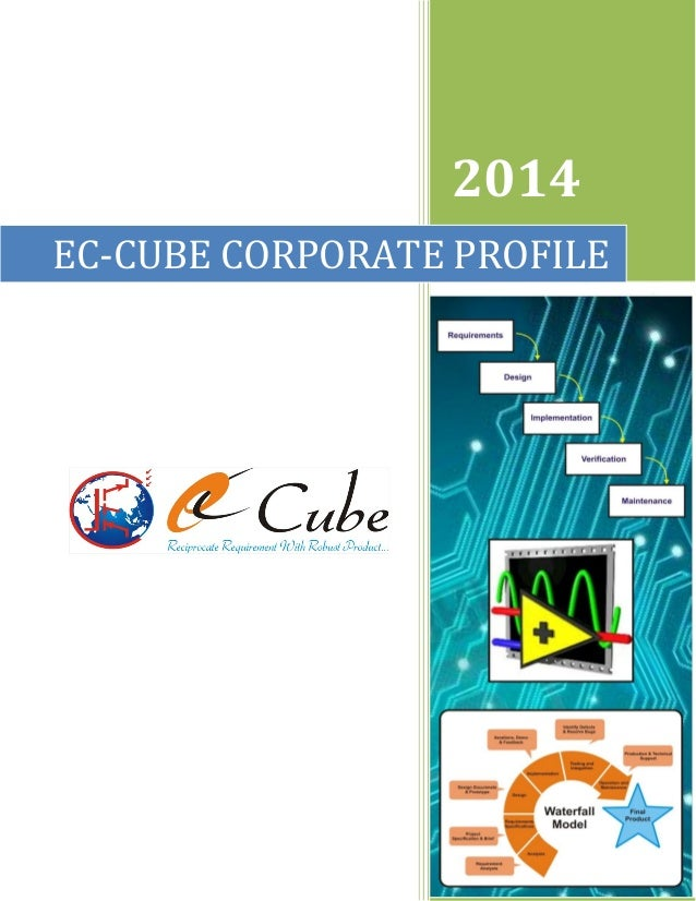 2014 EC-CUBE CORPORATE PROFILE  Venkat