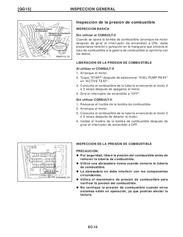 manual nissan qg 15 rh slideshare net