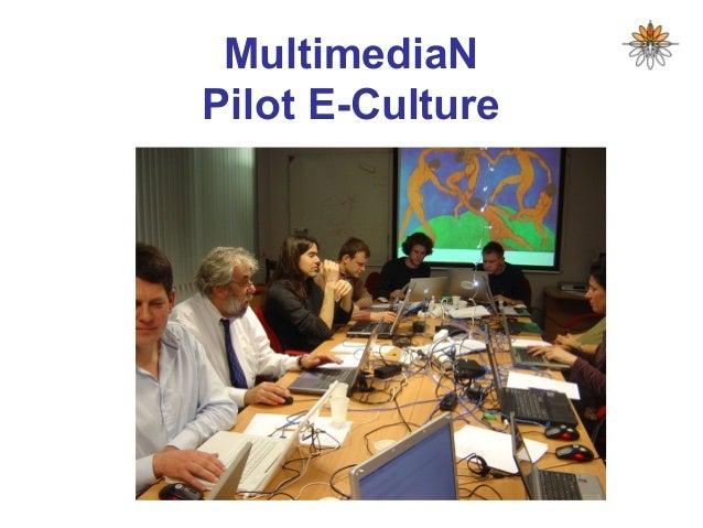 MultimediaN Pilot E-Culture