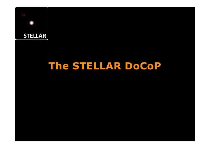 The STELLAR DoCoP