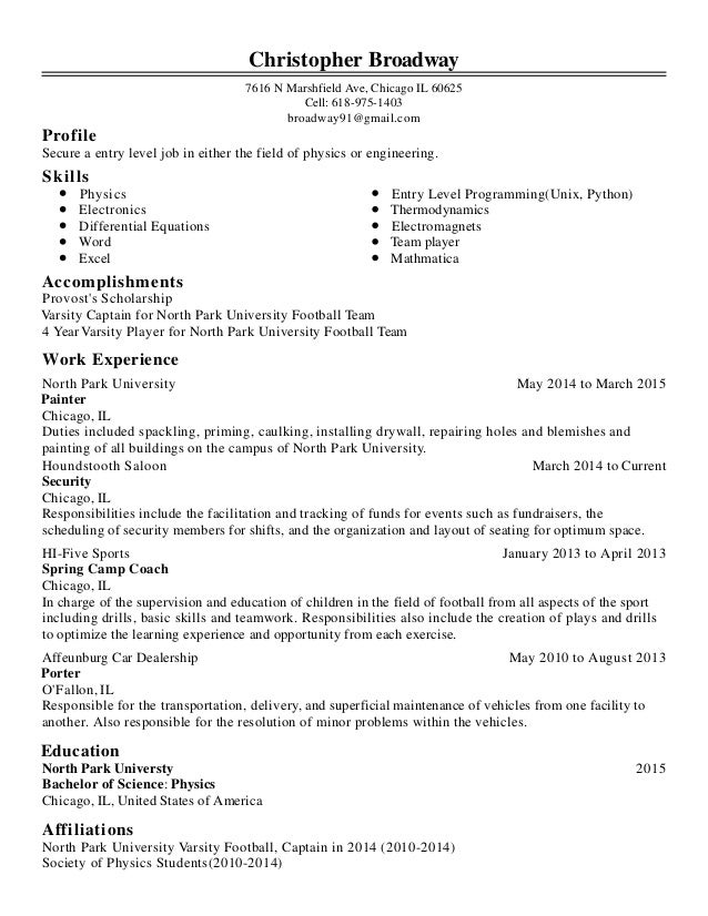 Chris Broadway Resume 11