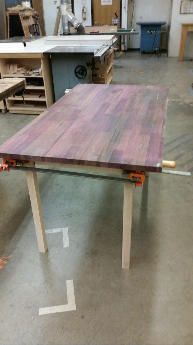 Brilliant Purpleheart Dining Table Interior Design Ideas Gresisoteloinfo