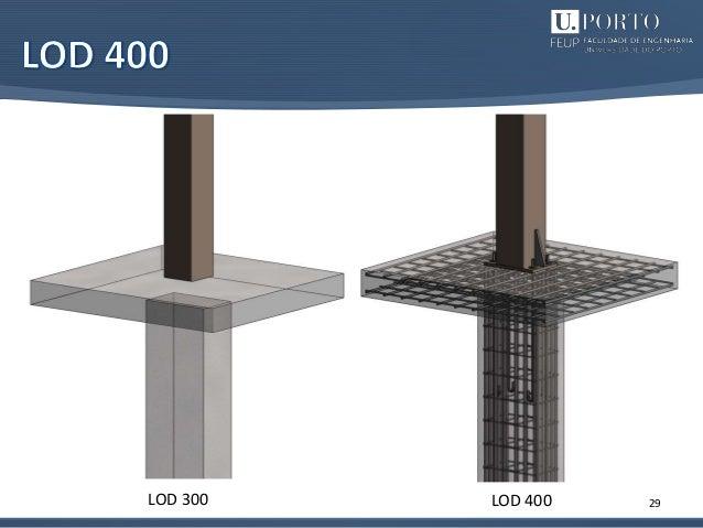 29LOD 300 LOD 400