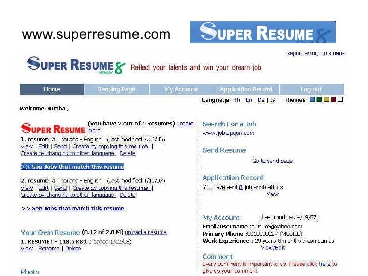 www.superresume.com