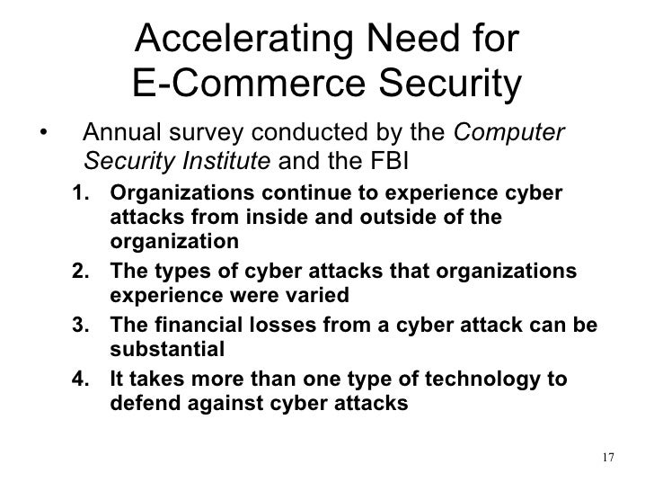 e commerce security essay In this report, we have prioritized issues related to privacy of e-commerce and social networking based websites as far as website developer is concerned.