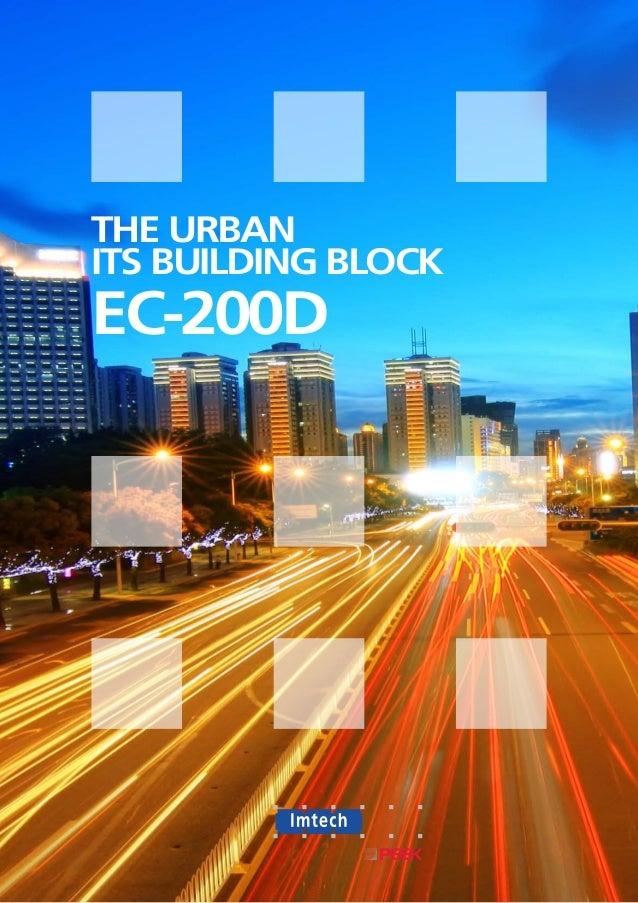 THE URBANITS BUILDING BLOCKEC-200D