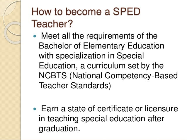 a desire to become a teacher in special education Ask any of us why we are doing this or why we want to become a special ed teacher wanted to become a special education teacher because i want to make a.