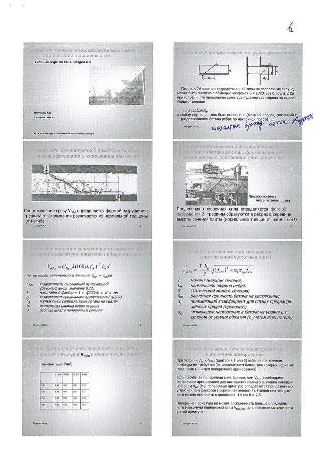 Учебный курс по ЕС-2. Раздал 6.2  тип-щи Аи.  3 ниш-яд али г.       нив.  на.  витки-шипыщцлищнццмэгпчн  опротвление срезу...