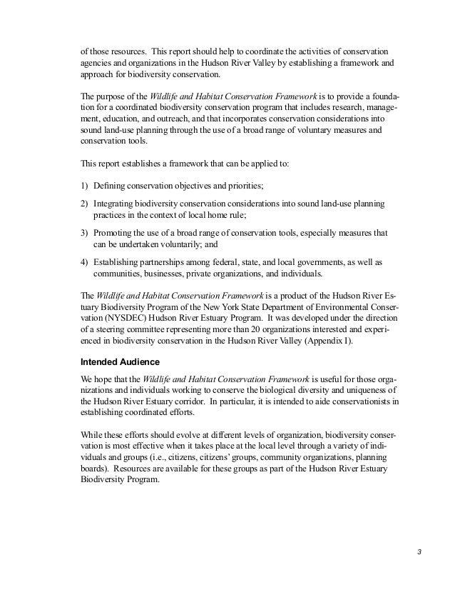Delta Conservation Framework