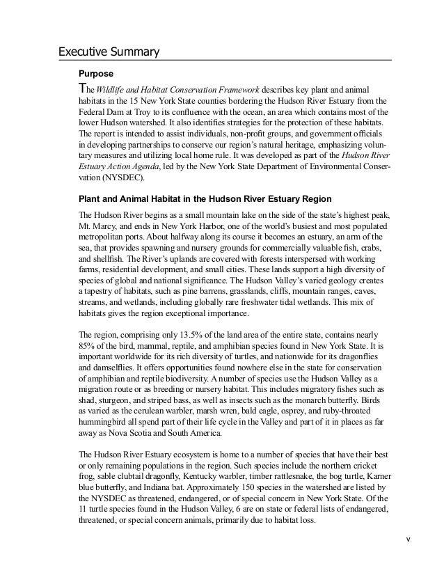 Habitat essay