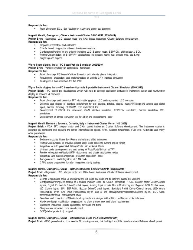 Sample Resumes Colby College