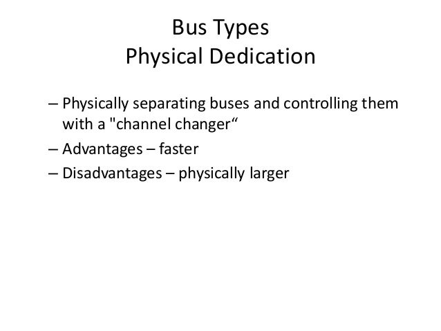 centralized vs distributed bus arbitration pdf