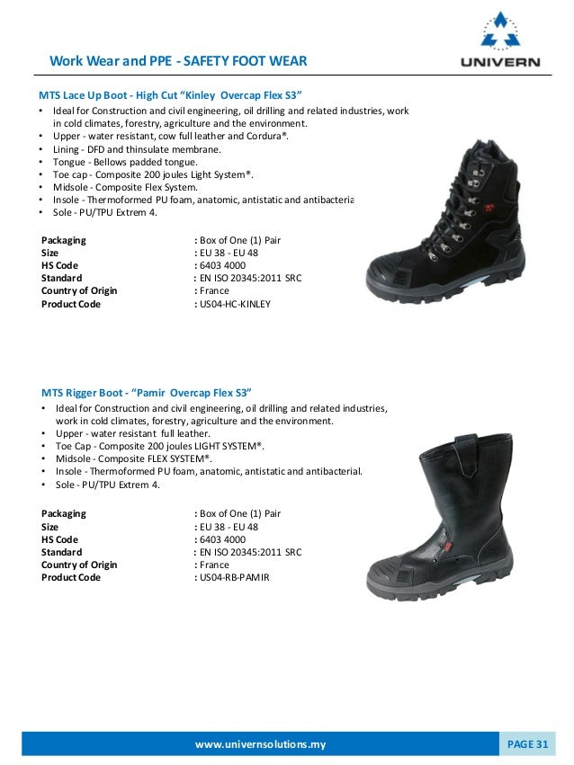 Catalogue 2016 - Univern Asia PPE Solutions
