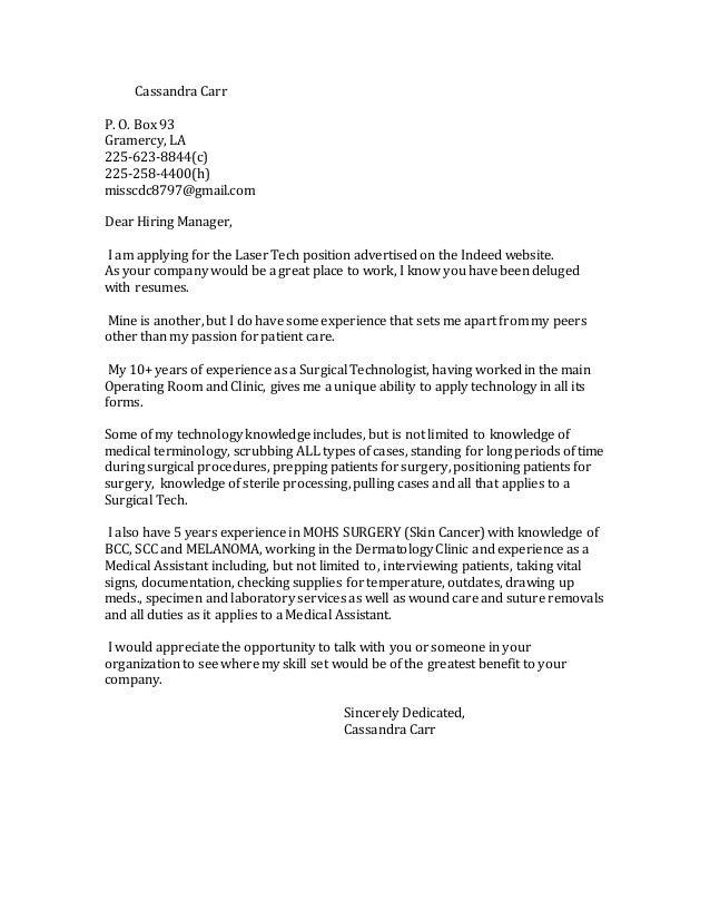 Cover Letter For Tech Company from image.slidesharecdn.com