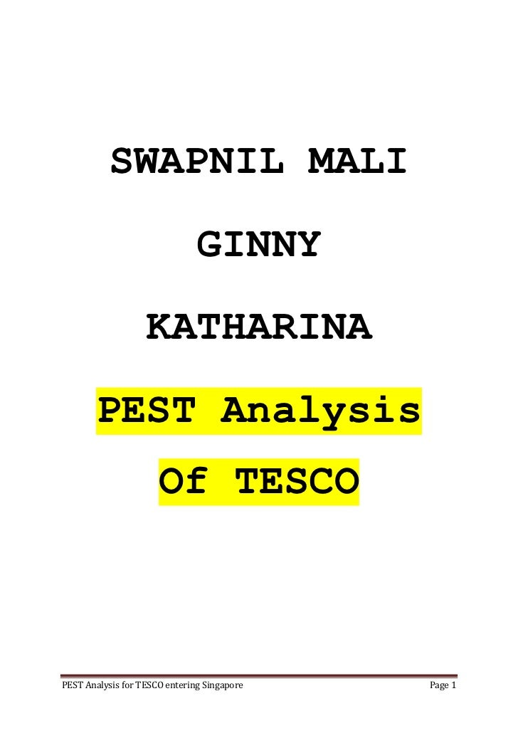 Tesco advertisement analysis