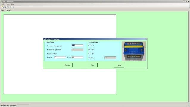Battery Analyser Slide 3
