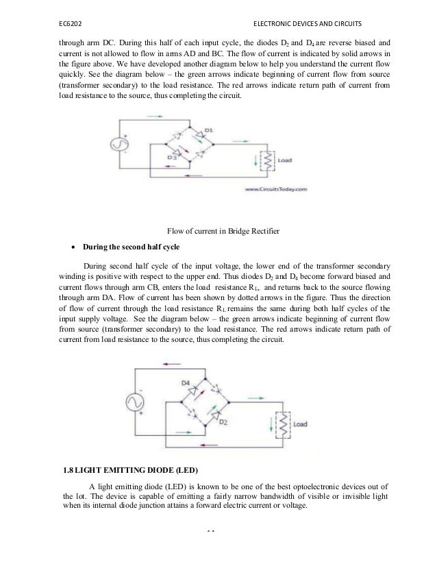 EC6202 ELECTRONIC DEVICES AND CIRCUITS NOTES