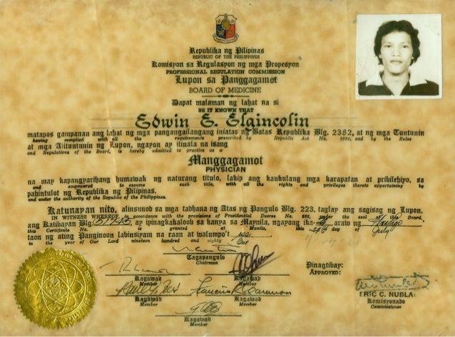06. Medicine license Certificate