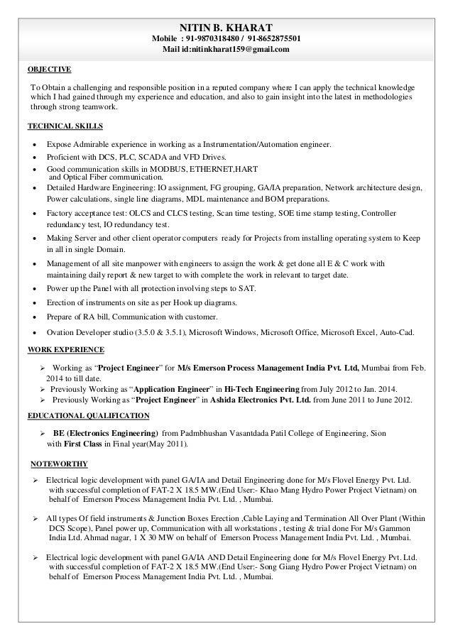 Resume Nitin Kharat rev 2