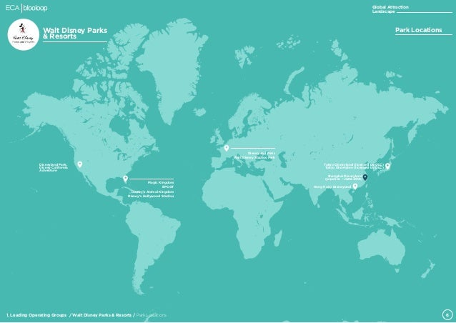 Disneyland Locations World Map.Eca Blooloop Global Attraction Landscape Report V1 0
