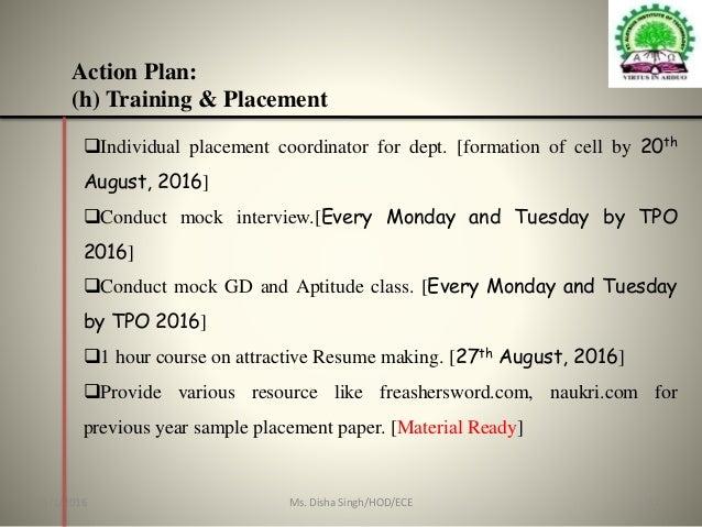 electronics  u0026 communication engineering action plan