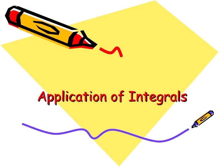 Application of Integrals