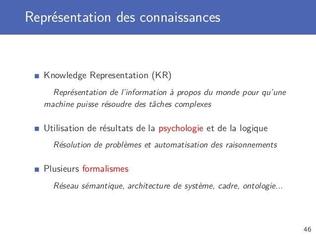intelligence artificielle   introduction  u00e0 l u0026 39 intelligence