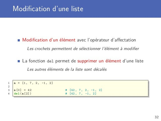 Python Avance Ensemble Dictionnaire Et Base De Donnees