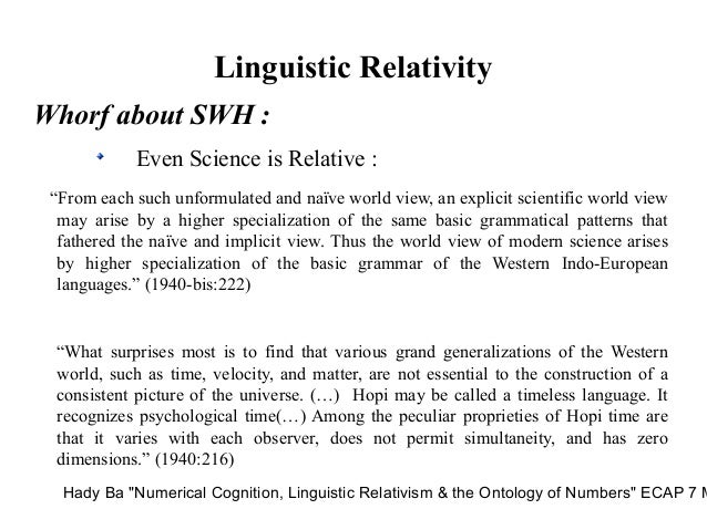 Sapir-whorf hypothesis hopi time human nutrition research papers