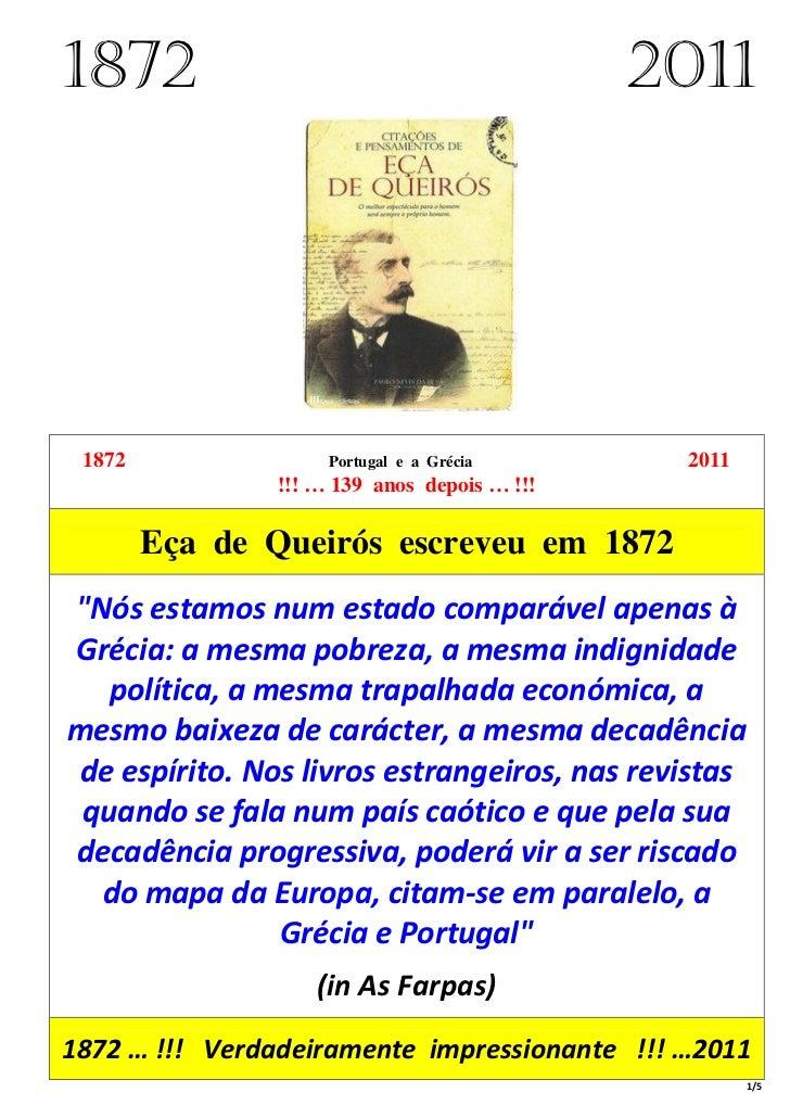 1872                                         2011 1872               Portugal e a Grécia       2011               !!! … 13...