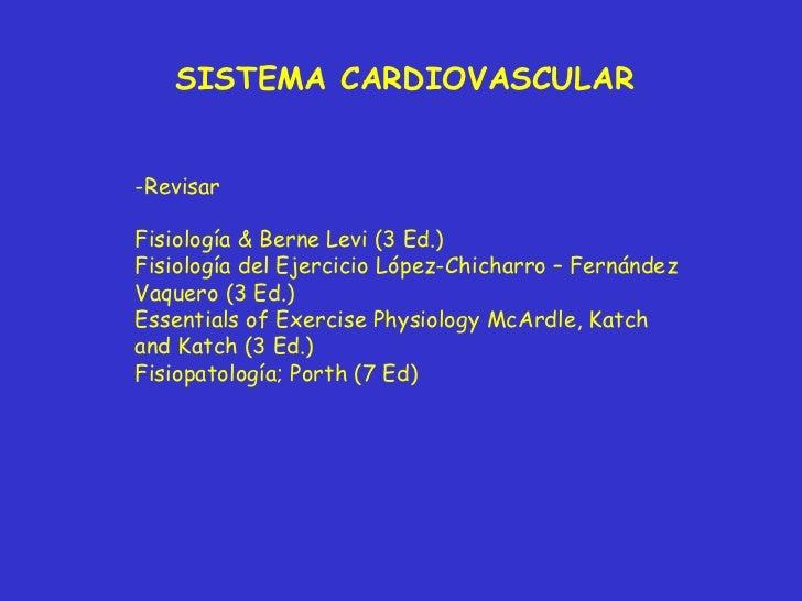 Clase Sistema Cardiovascular Slide 2