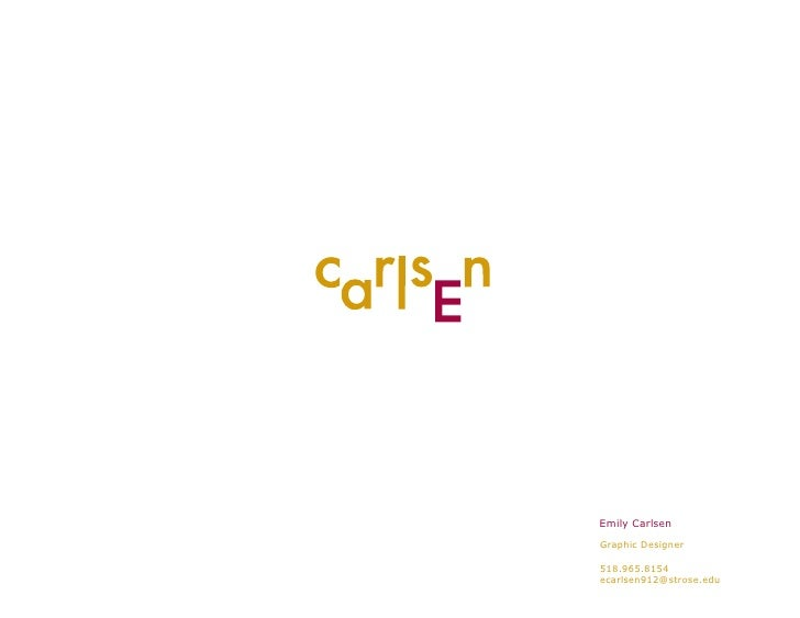 E Carlsen Pdf Portfolio