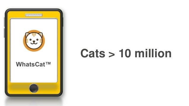 Cats > 10 million WhatsCat™