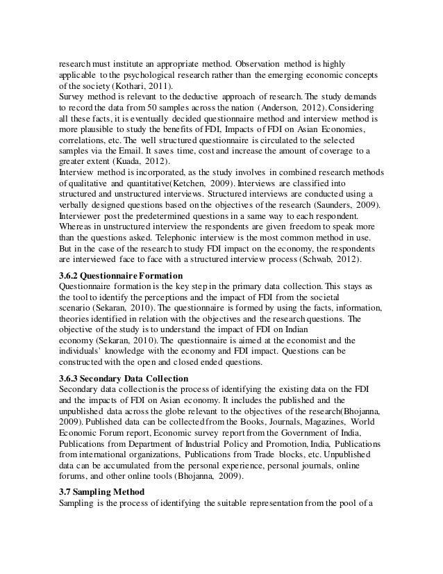 Dissertation for mba finance