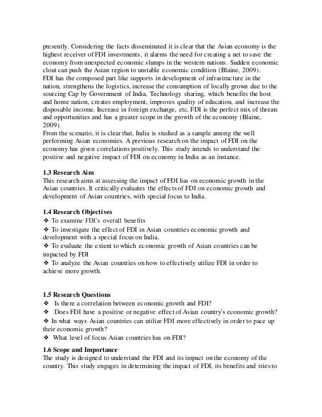Dissertation on finance mba