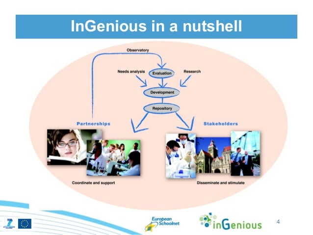 InGenious in a nutshell      Supporting     and federating        national       initiatives                          4