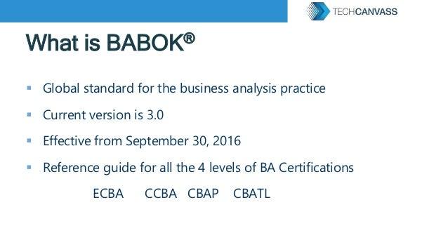IIBA ECBA Certification Exam preparation Strategy Slide 2